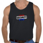 fake security tshirt